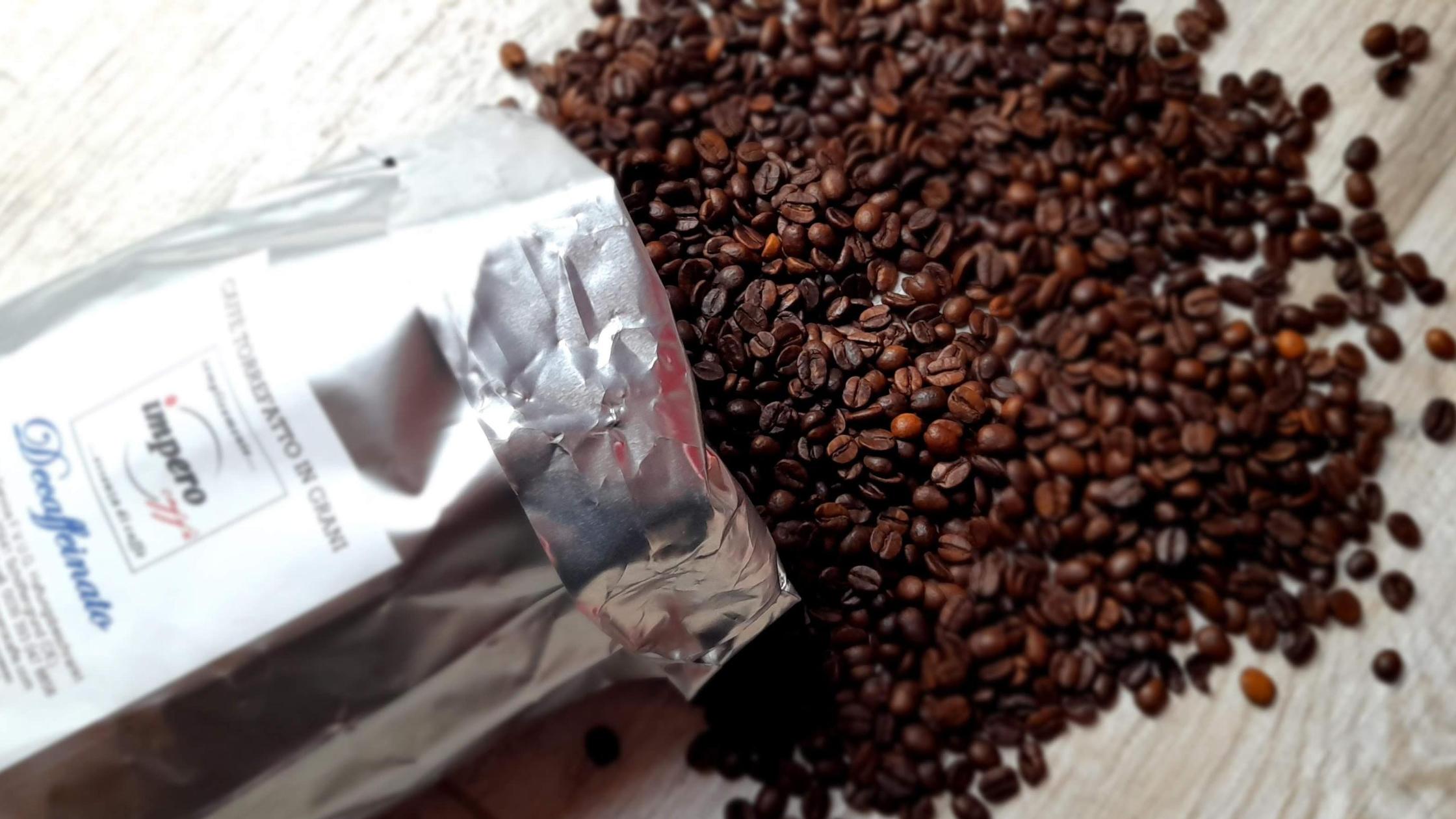 Caffè decaffeinato impero caffè